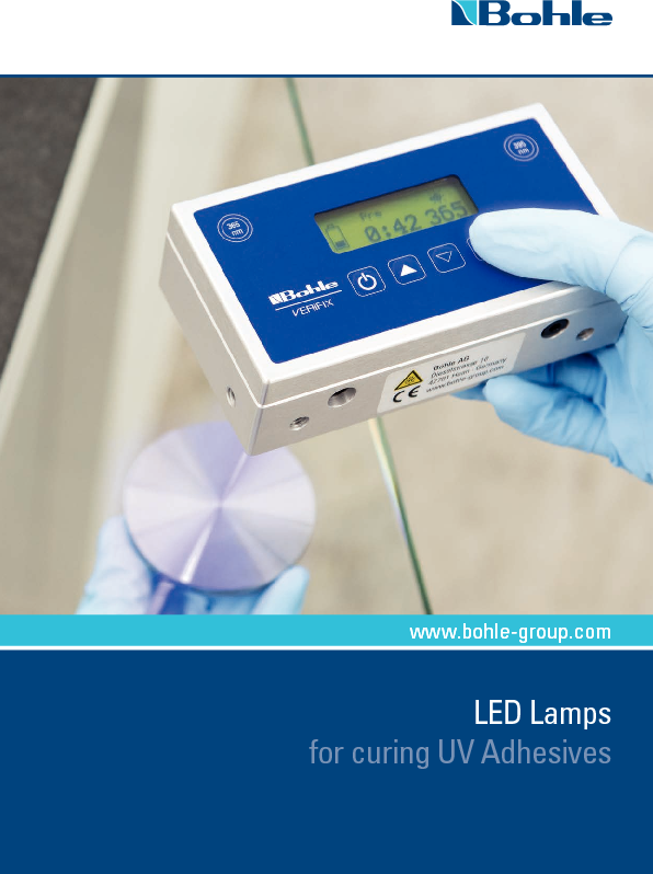LEP Lamps - LED Lamps for curing UV Adhesives.pdf