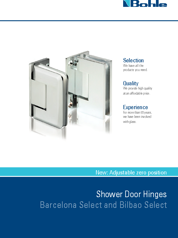 Shower Door Hinges Bilbao and Barcelona Select.pdf
