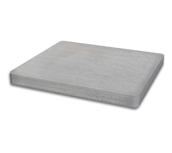 Säkerhetsplatta för Klämfäste kantig 45 x 45 mm,