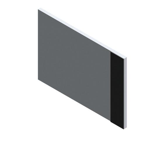 SlideTec optima 50 / 80 seitliche Abdeckkappe mit Festverglasung