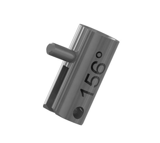 Silberschnitt® Rädchenträger Metall mit Beschriftung