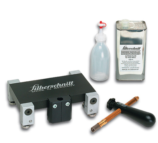 Dickglas-Schneidwagen-Set Silberschnitt® 2000