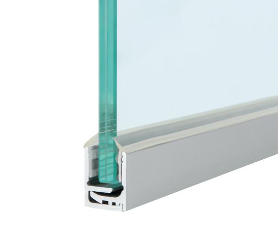 Laguna Railing Mount Window Box: Зажимной профиль из 2-х элементов
