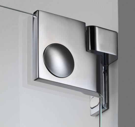 Duschtürband Plan artist Glas-Wand 90° DIN rechts