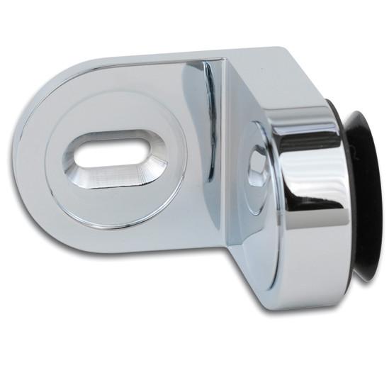 Winkelverbinder Plan curvum Glas-Wand 90° Anschraubplatte außen