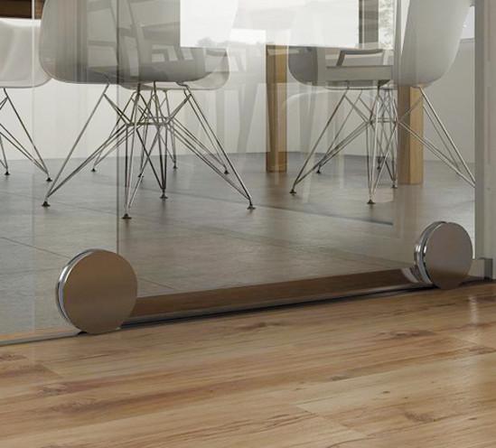 SlideTec Premium Floor Set Wandmontage 1-flügelig