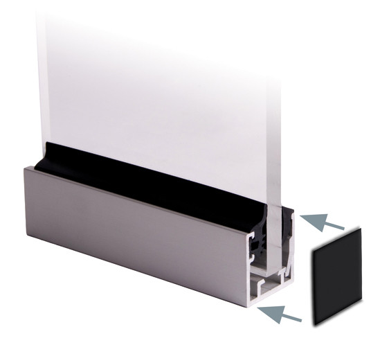 Endkappenset für U-Profile FrameTec Select