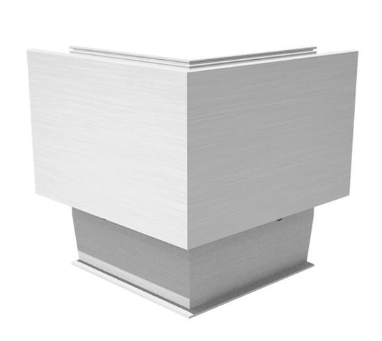 EasyMount Außenecke zu Seitenmontageprofil mit Winkel 1,0 kN