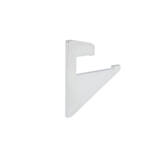 Set afdekkappen voor glasplaatdrager profiel 10 mm Glas
