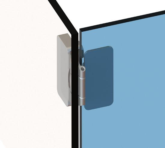 Ganzglas Vitrinen Scharnier Glasturscharniere Mobelbeschlage Fur