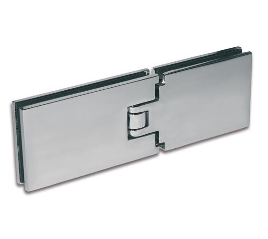 Duschtürband Milano Pur Glas-Glas 180° mit Spritzschutz