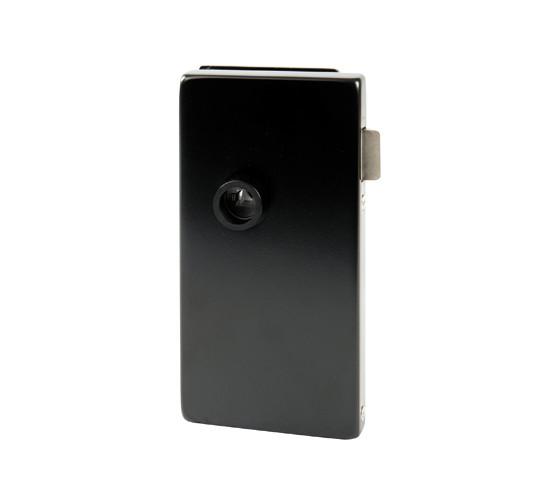 Glasdörrlås Alea DIN vänster Utan låsning för 10 mm Glas med 24 mm Falsdjup