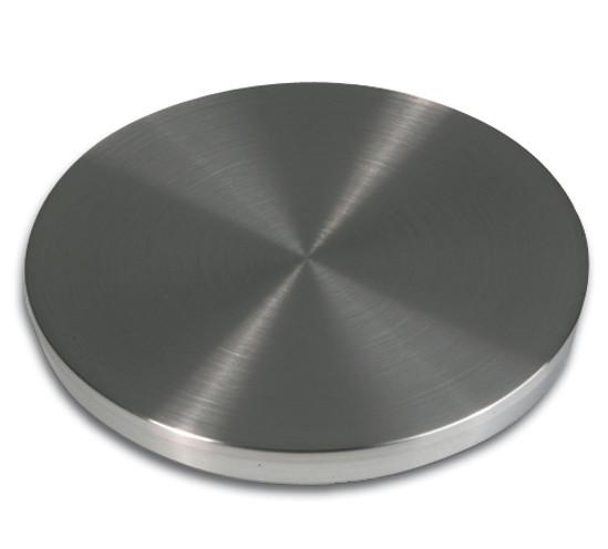 Adapterplatte aus Edelstahl für Tischbeine