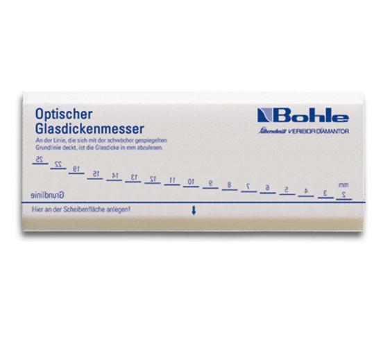 Optische glasdiktemeter