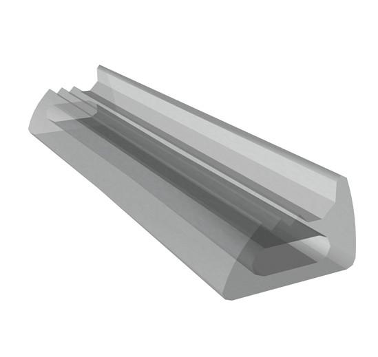 Portavant Silikonband für Boden-Wand-Profil oder Deckenprofil für 10 mm