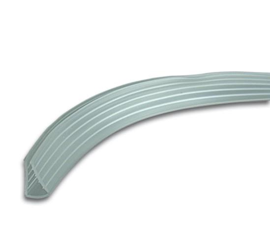 Loopschoenrubber voor 5 mm Glas