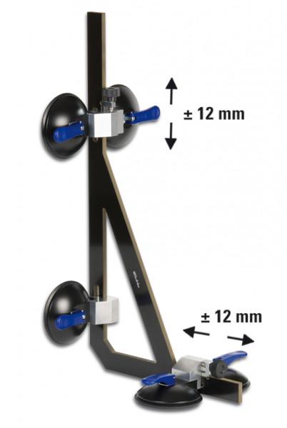 Vinkelsugare Verifix® 90° med stag