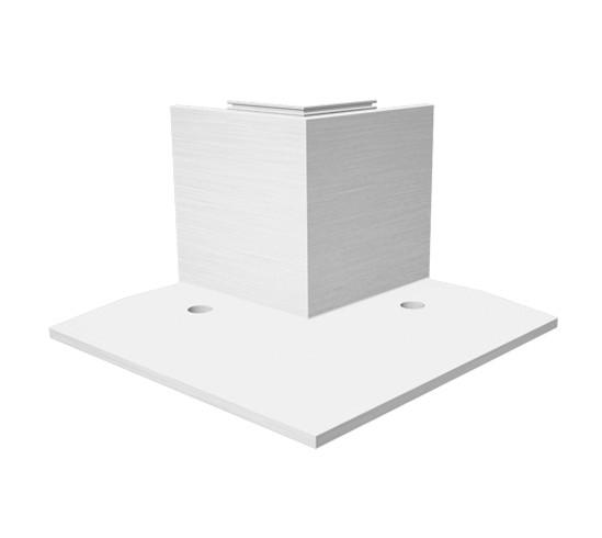 EasyMount Innenecke zu Bodenmontageprofil mit Winkel 1,0 kN