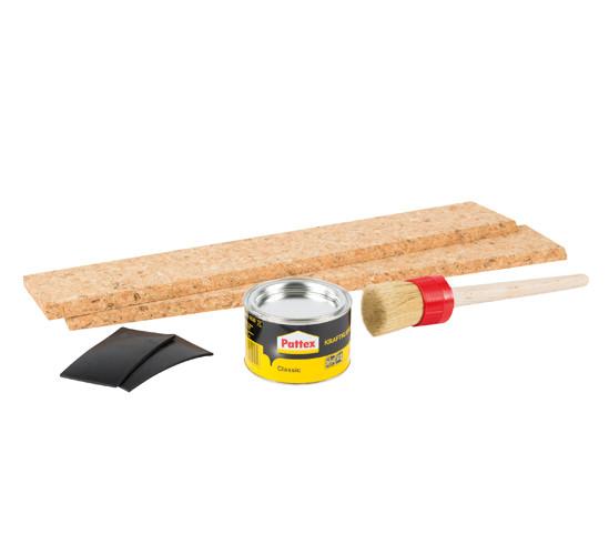 Almohadillas de repuesto de corcho y goma para GTP500