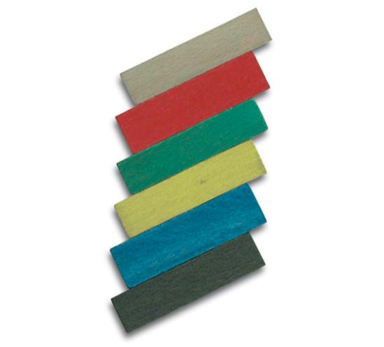 Draag- en afstandsblokjes Lengte 80 mm Breedte 12 mm