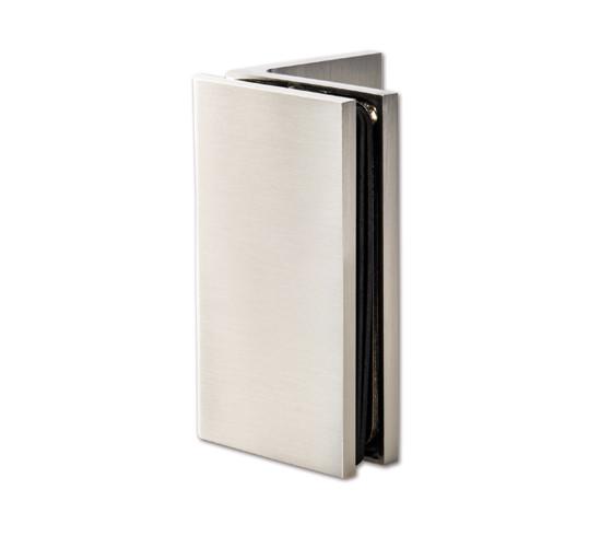 Winkelverbinder Bilbao Premium HD Glas-Wand 90°