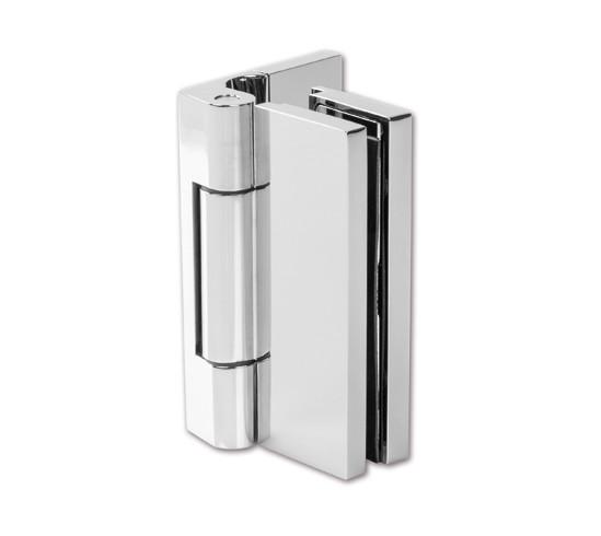 Duschtürband Madrid Glas-Wand 90° mit Hohlkehle nach außen öffnend