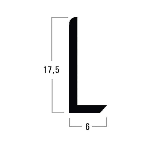 L-Spiegelprofil 17,5 x 6