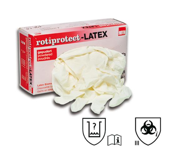 Einweghandschuhe aus Latex