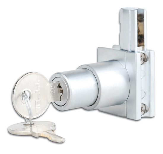 Slide Rail Lock Pressure cylinder lock left / right