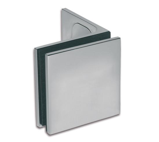 Winkelverbinder Milano Pur Glas-Wand 90°