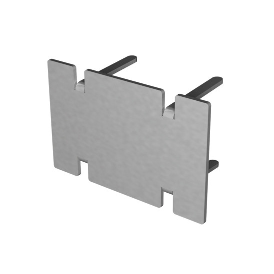 Portavant Endkappe für Deckenprofil