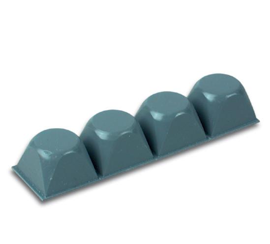 Abstandhalter selbstklebend grau Höhe 13,2 mm Durchmesser 20,6 mm