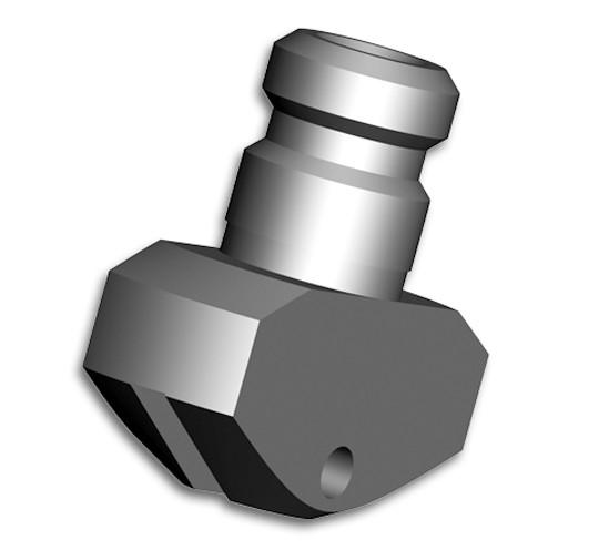 Silberschnitt® Rädchenträger Metall für Bottero