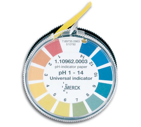 Indikatorpapier für Schleifwasserprüfung