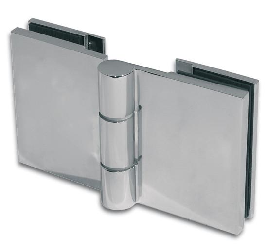 Duschtürband Wellness® Premium Glas-Glas 180° nach außen öffnend DIN links