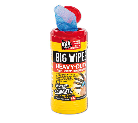 Tisztító kendök Big Wipes Heavy Duty