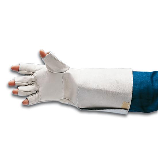 Schutzhandschuhe aus Chrom-Ziegennappaleder