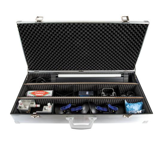 Profi-Set Verifix® mit Fixierhilfen Verifix® und UVA-Röhrenlampe