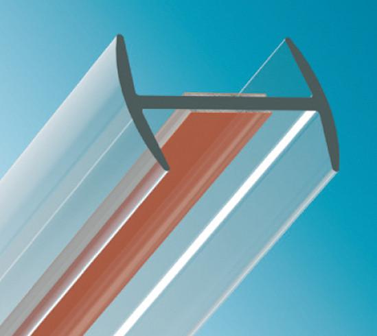 Verbindungsprofil flaches H-Profil
