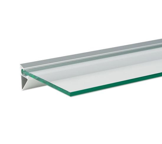 Wandprofil 8 mm Glas