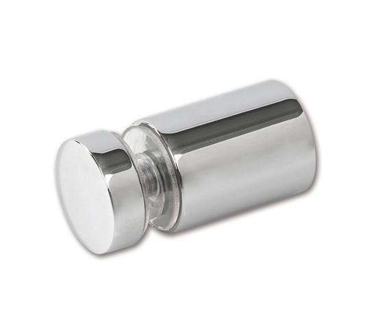 Glasanschluss in Glasbohrung Bohle round ø12