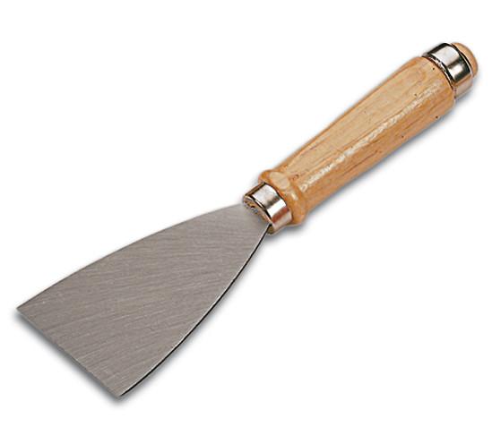 Glaserspachtel Premium mit Holzgriff