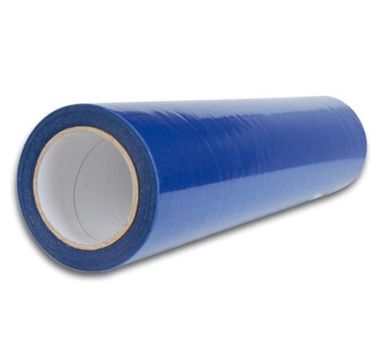 Selbstklebende Schutzfolie, blau