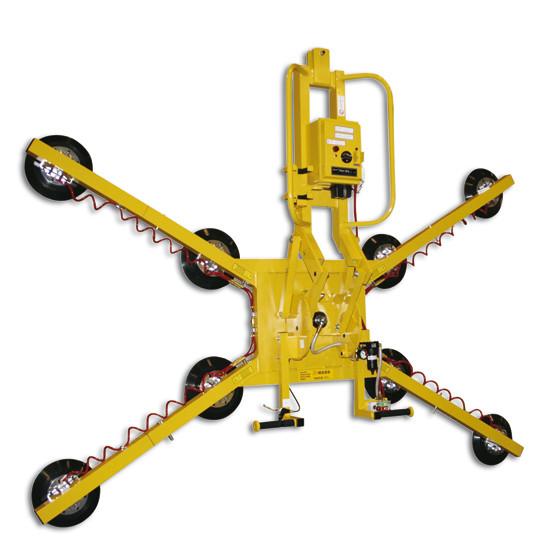 Equipo de ventosas Wood's Powr-Grip® MRTA811LDCS Capacidad de carga 635 kg