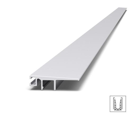 VetroMount® Aansluitend vloerprofiel