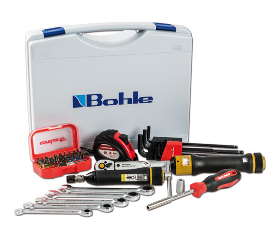 Kit di montaggio professionale con chiave dinamometrica Proxxon