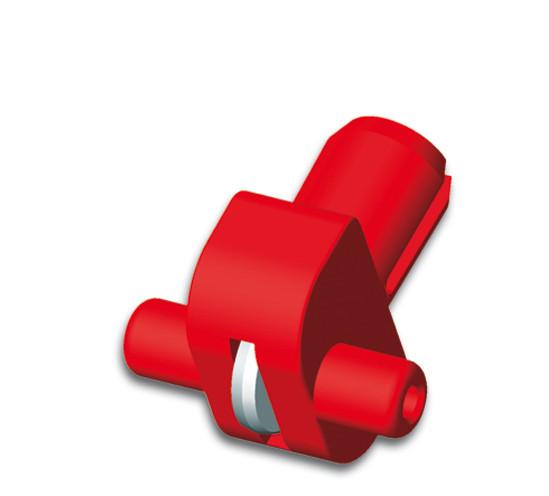 Silberschnitt® Rädchenträger 416 aus Kunststoff mit HM-Schneidrädchen