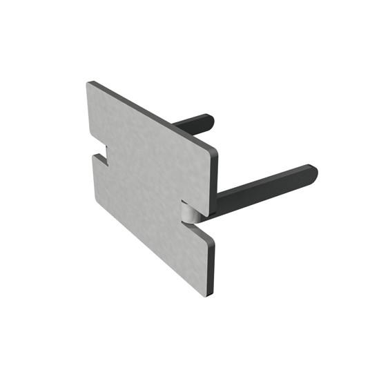 Portavant Endkappe für Boden-Wand-Profil