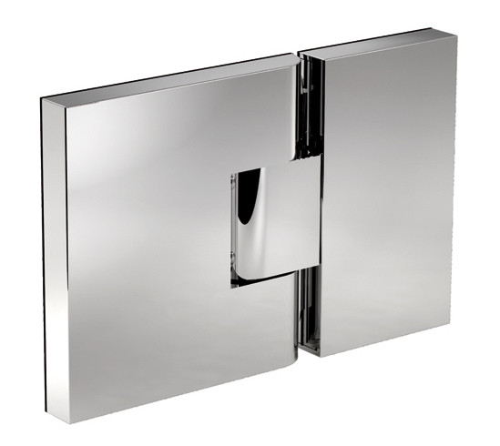 Duschtürband Next Glas-Glas 180° DIN links
