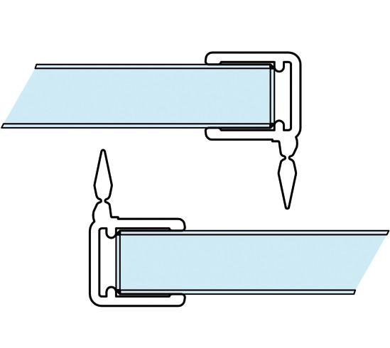 Aquant 40 vertikale Dichtleisten